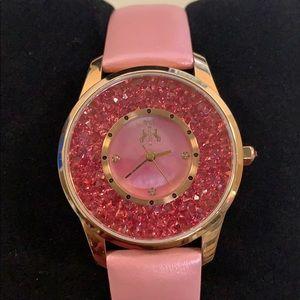 Jivago Women's Brillance Pink Watch JV3415